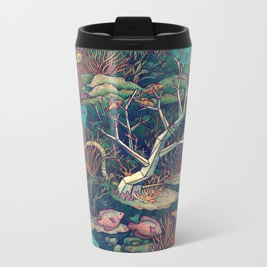 Coral Communities Metal Travel Mug