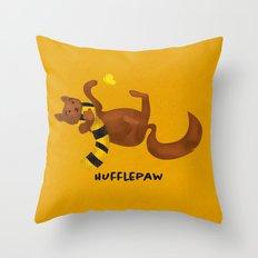 HUFFLEPAW Throw Pillow
