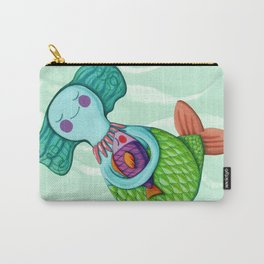 Mom Mermaid Carry-All Pouch