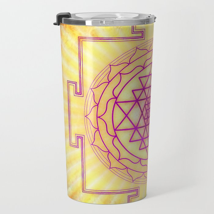 Sri Yantra XII Travel Mug