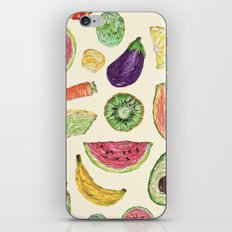 Froot and Veg iPhone & iPod Skin