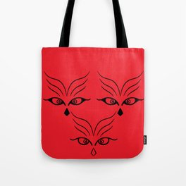 The three guardians Tote Bag