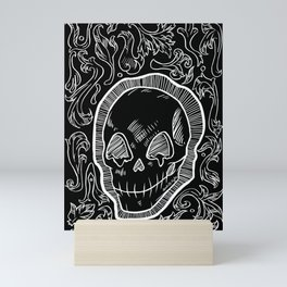 Skully Mini Art Print