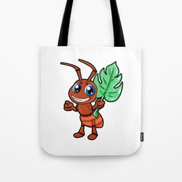 Cartoon Ant Happy Cute Anime Mange Kawaii Chibi Tote Bag