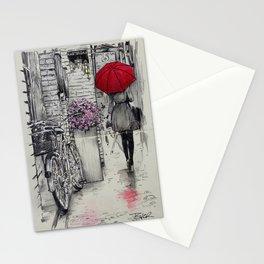 amsterdam walk Stationery Cards