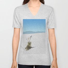 White Sands Unisex V-Neck