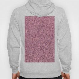 Motel Pink Shag Pile Carpet Hoody