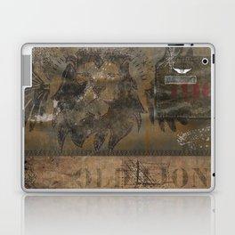 Old Lion (Boro Style) Laptop & iPad Skin