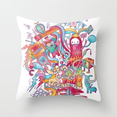 Together We're Awesome! Throw Pillow