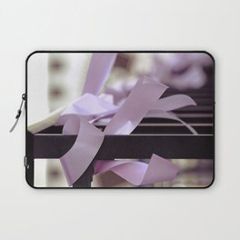 Komen race for the cure. together we can find a cure Laptop Sleeve