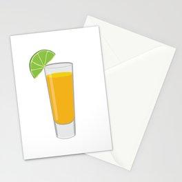 Tequila Shot Illustration Stationery Cards