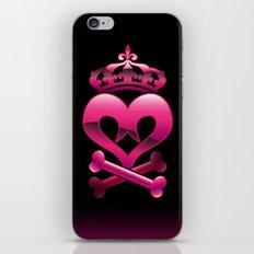 Emo heart iPhone & iPod Skin