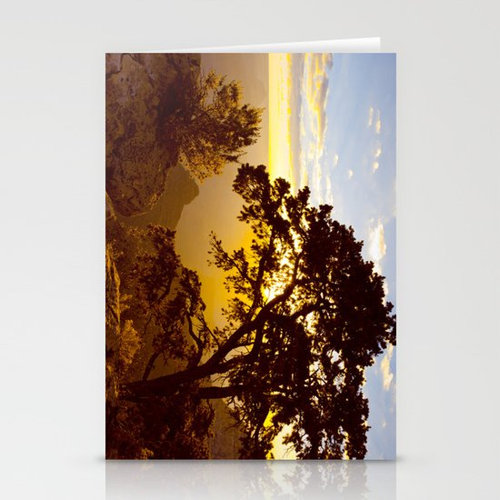 Grand Canyon sunrise Stationery Cards