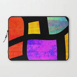 All the Right Angles, Abstract Art Laptop Sleeve