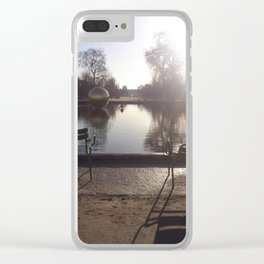 Garden Reflections Clear iPhone Case