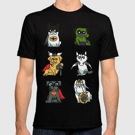 Superhero Puppies T-shirt