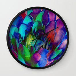 Lilly Psychedelic Wall Clock