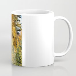 Autumn in the Rocky Mountains at Diamond Lake Trail, Eldora Colorado Coffee Mug