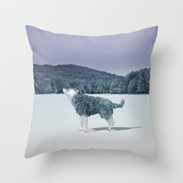 Lonewolf Throw Pillow