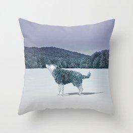 Lonewolf Throw Pillow