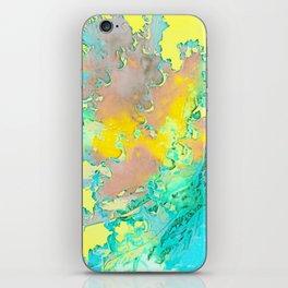 BOTANICA FANTASTICA YELLOW iPhone Skin