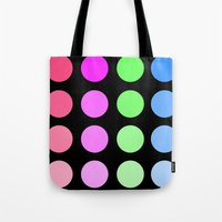 gradient Tote Bags featuring Gradient by SnakeBees