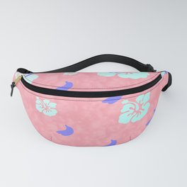 Tropical Pattern Pink Fanny Pack