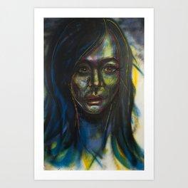 Green Piece Art Print
