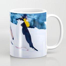 Sociable Penguins | Watercolor Art Coffee Mug