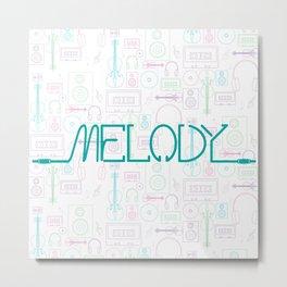 Melody Metal Print