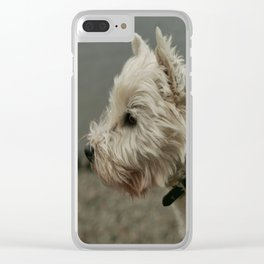 Westie Clear iPhone Case