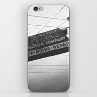 tennessee iPhone & iPod Skins featuring Tennessee by Ethan Luck