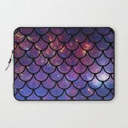 Galaxy Fish Scales Pattern Laptop Sleeve