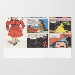 Miss America Quality Comics Rug