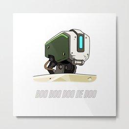 BOO BOO DOO DE DOO- Bastion Metal Print