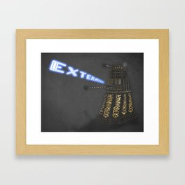 Exterminate! Framed Art Print