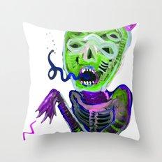 demoniooOOoOOoOooo #3 Throw Pillow
