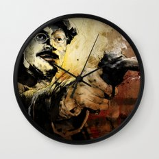 Halk Mask Wall Clock
