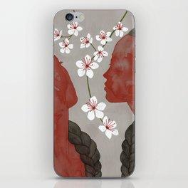 cherry blossom girls iPhone Skin