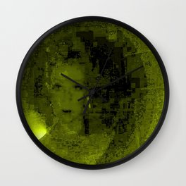 Bond's Woman Wall Clock