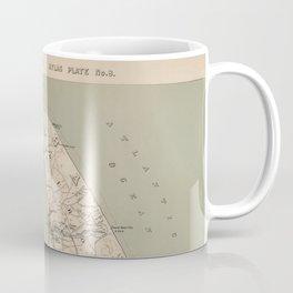 Vintage Map of Lower Cape Cod (1891) Coffee Mug