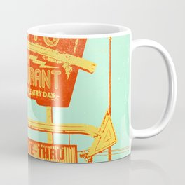 RADIO RESTAURANT Coffee Mug
