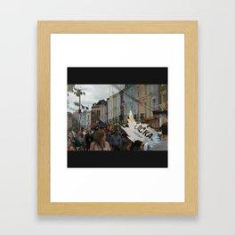 FUCKA U UP Framed Art Print