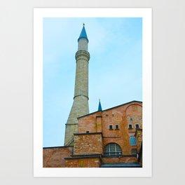 Hagia Sophia - Istanbul, Turkey Art Print