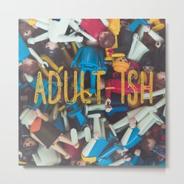 Adult-ish playtime Metal Print