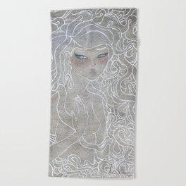 Young Medusa Beach Towel
