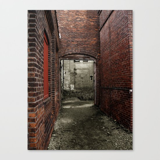 blood red Canvas Print