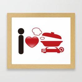 Japanese_Hot_Pot Framed Art Print