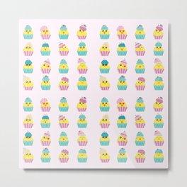 CupChicks Metal Print