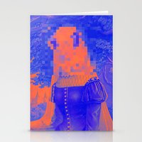 furry Stationery Cards featuring Furry Streets by Tyler Spangler